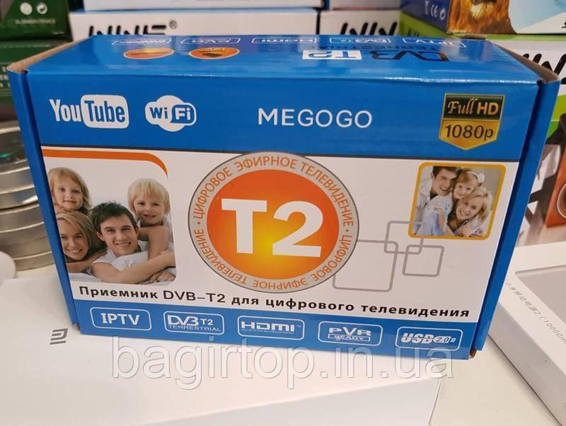 Цифровой Телевизионный Приемник TV Тюнер Т2 Megogo Wi-Fi адаптер