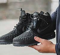 Мужские осенние кроссовки Prada Mechano Mid Sneakers Black, цена 1 ... edbeeb2c3df