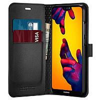 Книжка-Чохол Spigen для Huawei P20 lite / nova 3e Wallet S, Black