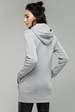 Модный худи с капюшоном Большие размеры от 54, фото 2