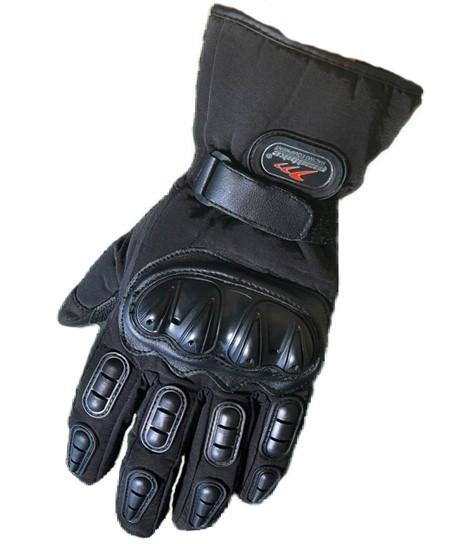 Зимові мотоперчатки Mad Bike TF-01 Чорний, XXL