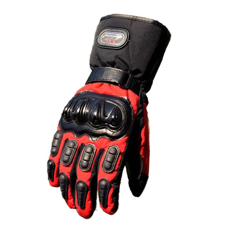 Зимові мотоперчатки Mad Bike TF-01 Червоний, XXL