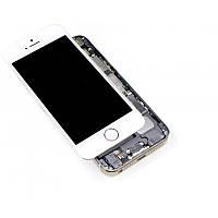 Модуль iPhone 5S white белый дисплей экран, сенсор тач скрин для телефона смартфона