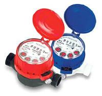 Счетчики Powogaz квартирные для горячей воды муфтовые Ду15 L=80мм.