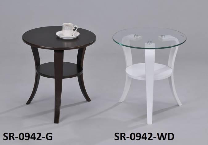 Стильный столик стекло кофейный, сервировочный, прикроватный, офисный, фото 2