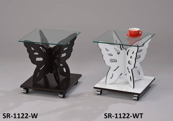 Столик кофейный, сервировочный, прикроватный, офисный Бабочка, фото 2
