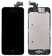 Модуль iPhone 5S Black черный дисплей экран, сенсор тач скрин для телефона смартфона