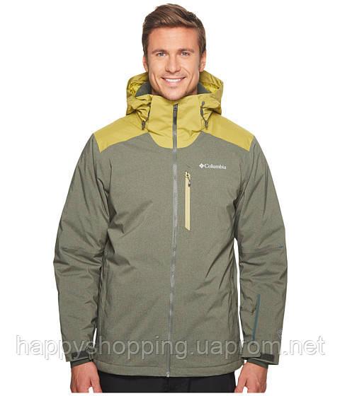 Мужская серая куртка с капюшоном Columbia - Интернет-магазин