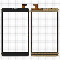 Сенсор Assistant Ap-875 3G Cube U27Gt Talk8 Оригинал Черный