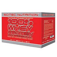 Протеин Сывороточный Scitec Nutrition 100% whey protein professional 30 sachets  mix