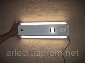 Светильник ODT + - LED 17 Вт. А++ прикроватный, больничный, двухсторонний, фото 3