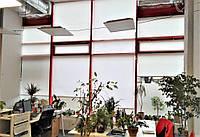Текстильное оформление офисного помещения АШАН 3