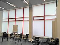 Текстильное оформление офисного помещения АШАН 12