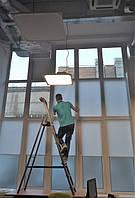 Текстильное оформление офисного помещения АШАН 13