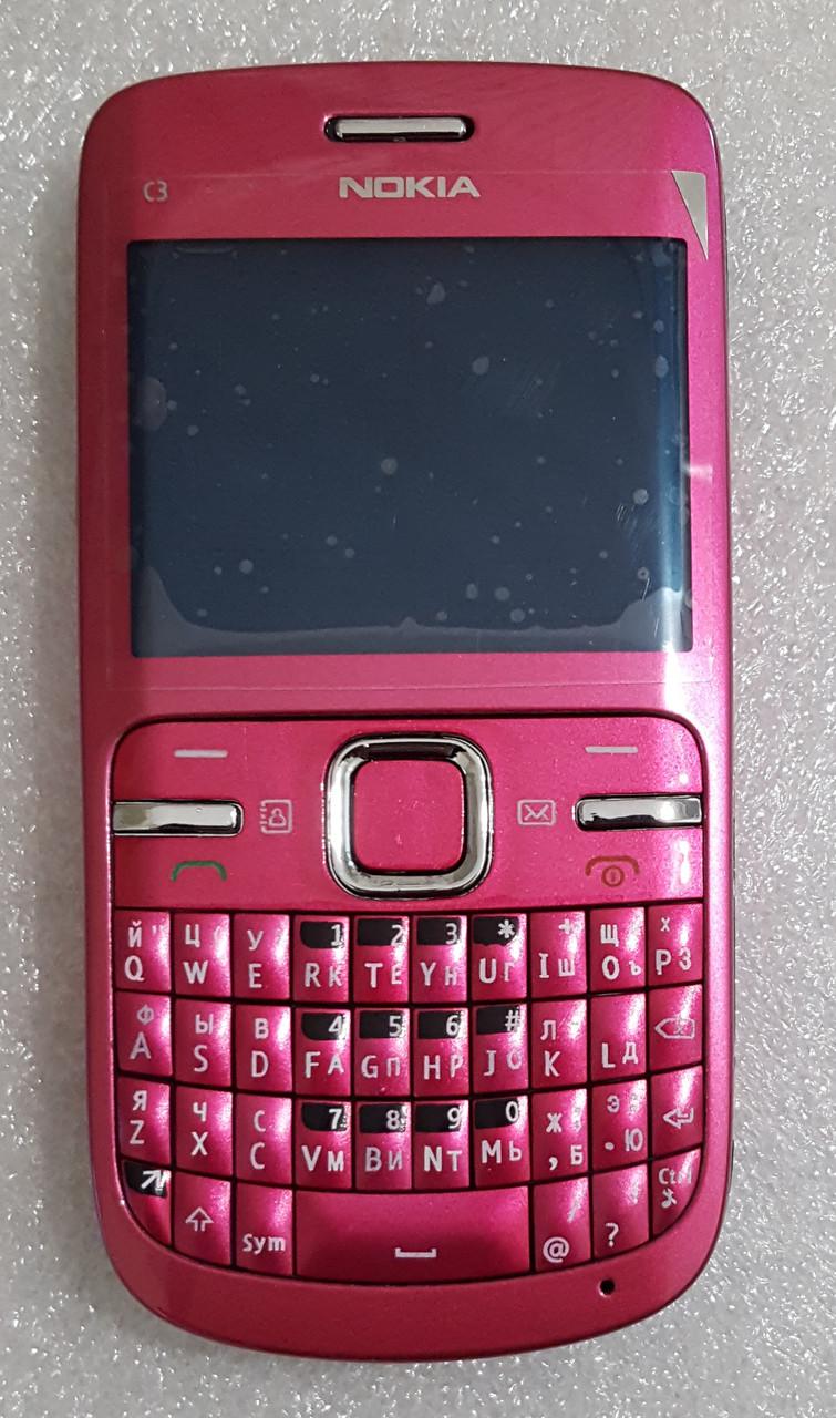 Корпус для Nokia C3-00 rose