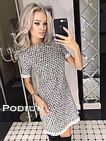 """Женское стильное платье """"Клара"""" (расцветки), фото 1"""