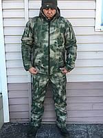 "Костюм зимний Soft Shell непромокаемый ""Хантер"" Atacs-FG, фото 1"