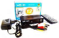 Тюнер DVB-T2 LCD с поддержкой wi-fi адаптера+Megogo, Т2 эфирный приемник, ТВ ресивер, ТВ тюнер