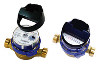 """Счетчики Powogaz квартирные для горячей воды серии """"SMART"""" муфтовые Ду15 L=110 мм."""