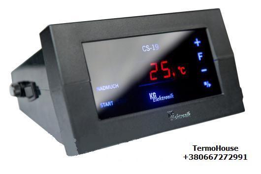 Блок управления для твердотопливного котла KG Electronik CS—19
