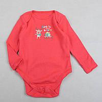 """Детский бодик с длинным рукавом F&F """"Подручный Санты"""" для новорожденных"""