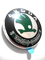 ОРИГІНАЛЬНА передня Емблема Шкода Skoda Octavia A5 Фабія 2 Fabia 2 3U0853621BMEL, фото 1