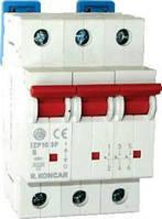 Модульний автоматичний вимикач IZP10 B6 3P