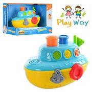 Интерактивный кораблик игрушка для купания малыша