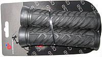 Грипсы TW CSG-620BK+BK 127мм, резиновые, черные