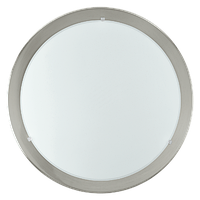 Потолочный светильник 82942 EGLO Planet 1х60Вт Е27 металл/серебро