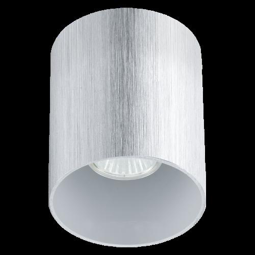 Точечный накладной светильник 91196 EGLO Bantry 1х35Вт GU10 металл/серебро