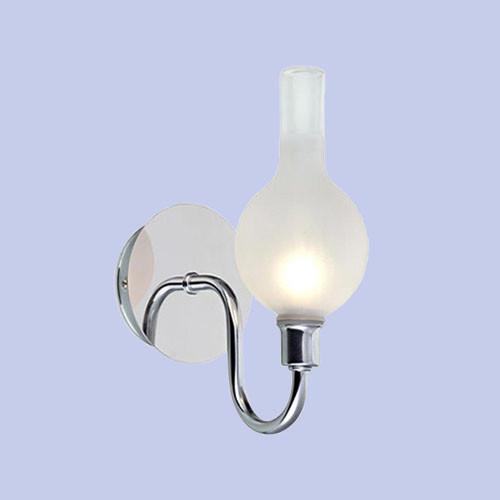 Бра для ванной комнаты Markslojd Liberty 106379 1х18Вт G9 серебро/металл