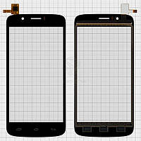 Сенсор Prestigio MultiPhone 5504 Duo|Оригинал|Черный
