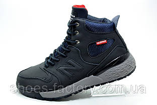 Зимние кроссовки в стиле New Balance Fresh Foam Paradox Suede, Dark Blue