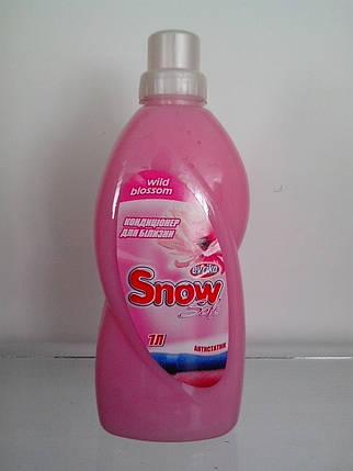 Засіб для пом'якшення тканин з ароматом Wild Blossom 1 л Snow Soft, фото 2