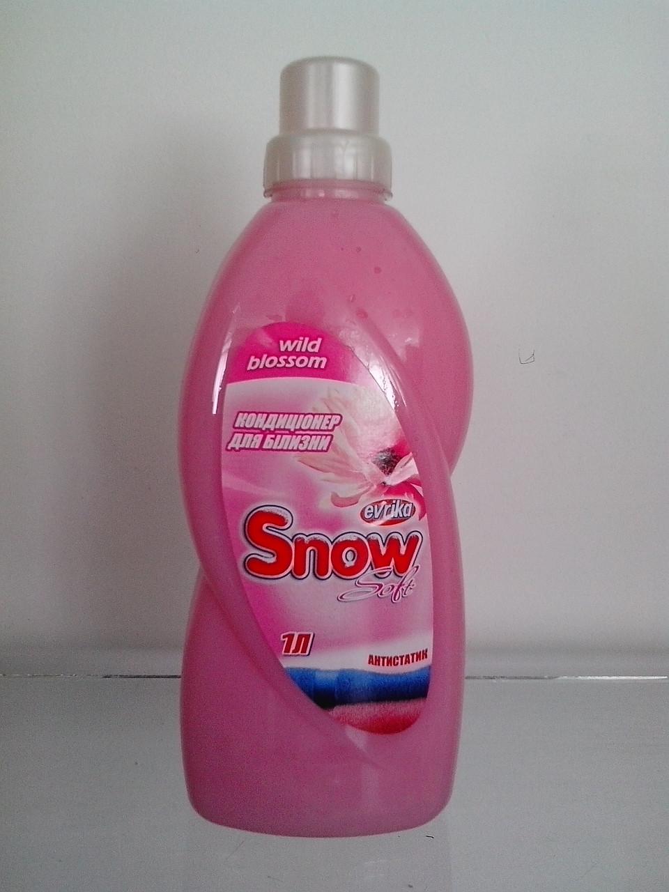 Засіб для пом'якшення тканин з ароматом Wild Blossom 1 л Snow Soft