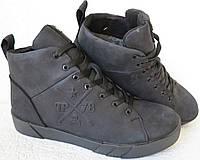 Зимові чоловічі черевики на шнурівці в стилі Philipp Plein натуральна шкіра  Crazy 92207594f136a