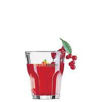 Стакан стеклянный для сока с логотипом, печать на стакане