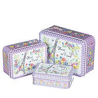 """Набор коробок """"Париж в цветах""""  0269JA"""