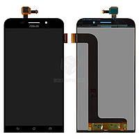 Дисплей Asus ZenFone Max ZC550KL Оригинал с сенсорным стеклом Черный