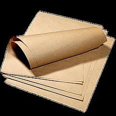 Упаковочная бумага крафт целюлозная 320*320мм 40г/м² 1000шт (941)