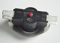 Биметаллический защитный термостат 90°C, 16A, 250V, с кнопкой, однофазный, ELTH 263BR, для бойлеров Gorenje