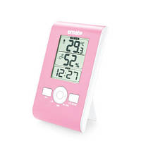 Цифровой термо-гигрометр EMATE M0102THS (термометр: 0 °C~+50 °C; гигрометр: 20%-90%), часы, будильник