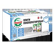 Плити пінополістерольні ANSERGLOB EPS 60 12,5кг\м3