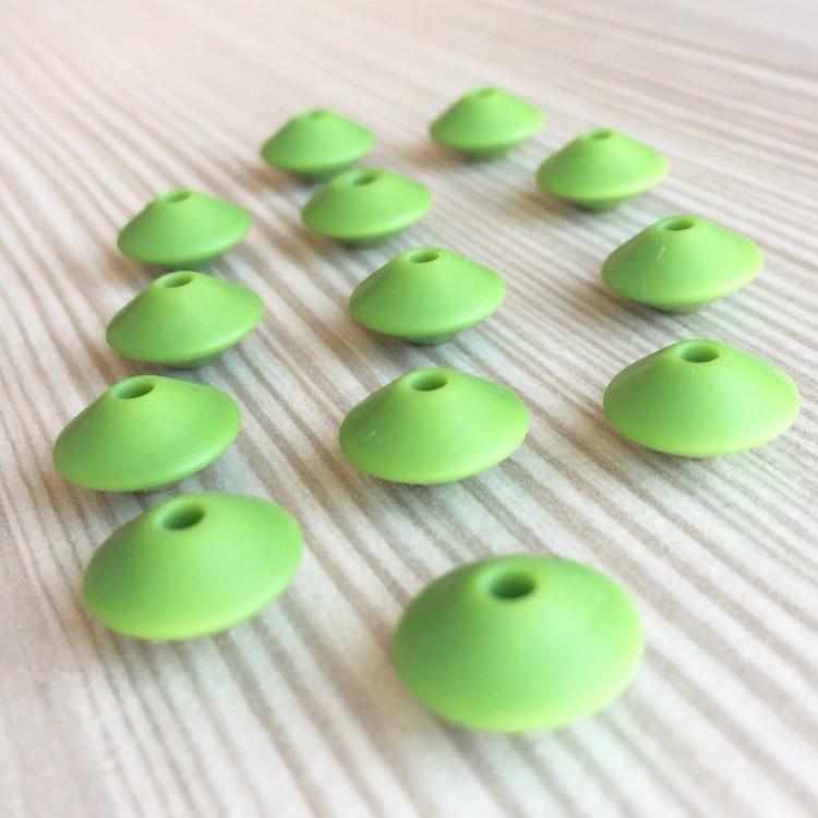 Плоская (зеленый) разделитель букв