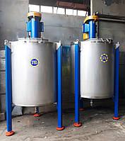 Смеситель объемом 1200 литров, вертикальный, периодического действия., фото 1