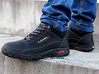 Черевики чоловічі зимові черевики на хутрі (сгб-10чкн)