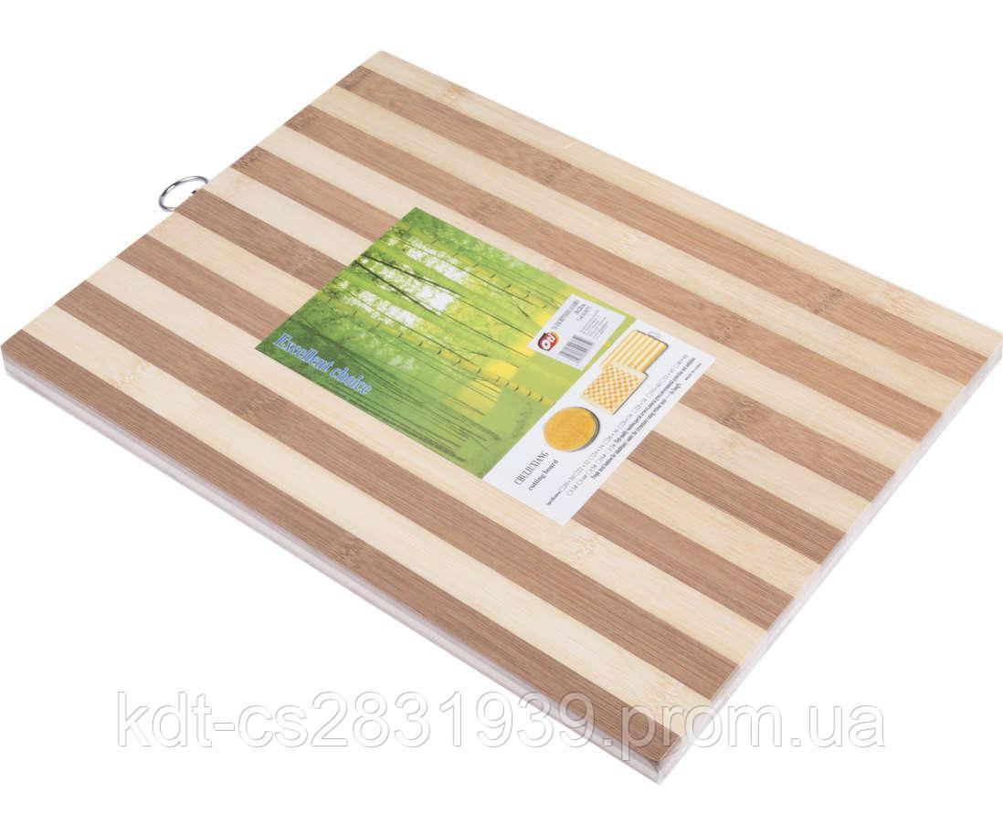 Доска разделочная бамбук 26×36×1.4