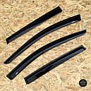 Дефлекторы окон (ветровики) Д/о Santa Fe 2000-2006, фото 4