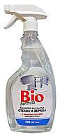Средство для мытья стекол и зеркал Bio formula с эффектом Анти-пар Триггер - 500 мл.